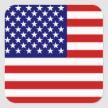 Drapeau américain autocollants