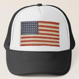Drapeau américain avec 48 étoiles casquette