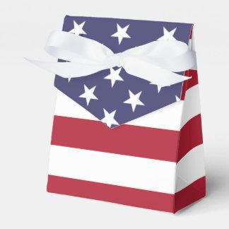 Drapeau américain - ballotin de tente ballotin pour dragées