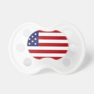 Drapeau américain - bannière étoilée - vieille tétines pour bébé