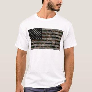 Drapeau américain camouflé t-shirt
