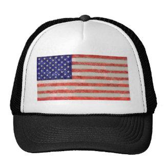 Drapeau américain casquette