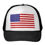 Drapeau américain casquette de camionneur