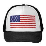 Drapeau américain casquettes de camionneur