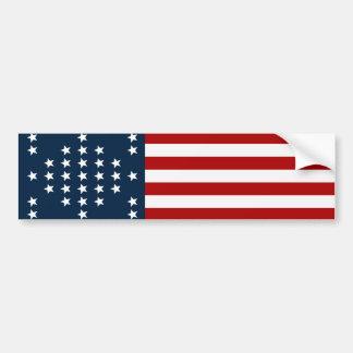 Drapeau américain de guerre civile de Sumter de Autocollant Pour Voiture