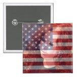 Drapeau américain des Etats-Unis personnalisable a Badge