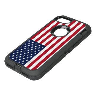 Drapeau américain Etats-Unis Coque OtterBox Defender iPhone 8/7