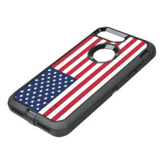 Drapeau américain Etats-Unis Coque OtterBox Defender iPhone 8 Plus/7 Plus