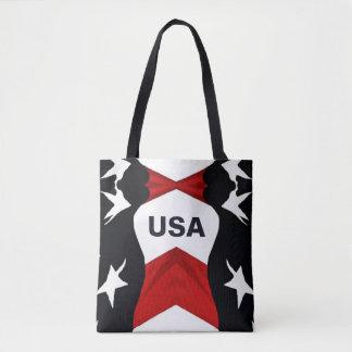 Drapeau américain Etats-Unis Tote Bag