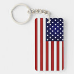Drapeau américain Keychain