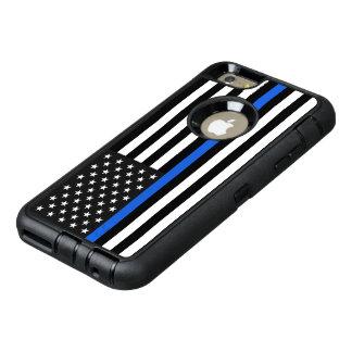 Drapeau américain mince de Blue Line Coque OtterBox iPhone 6 Et 6s Plus