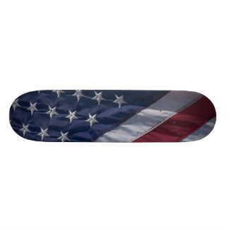 Drapeau américain mini skateboard 18,4 cm