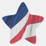 Drapeau américain patriotique autocollants en étoile