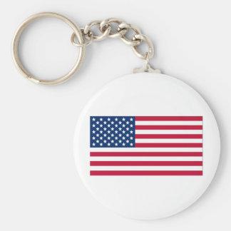 Drapeau américain porte-clés