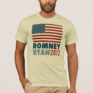 Drapeau américain Romney-Ryan 2012 T-shirt