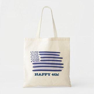 Drapeau américain sac bleu personnalisable du 4 ju