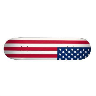 Drapeau américain skateoard personnalisé