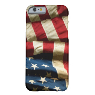 Drapeau américain sur l'iPhone 6 ID™ Coque Barely There iPhone 6