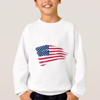 Drapeau américain sweatshirt