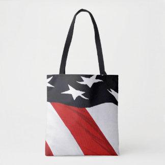 Drapeau américain tote bag