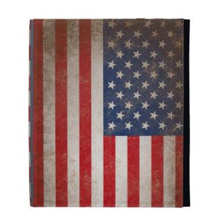 Drapeau américain vintage coque iPad