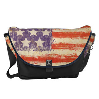 drapeau américain vintage besace