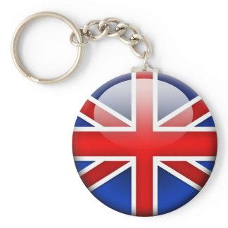 Drapeau anglais 2,0 porte-clés