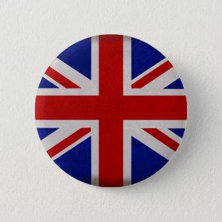 Drapeau Anglais d'Angleterre texturé Badges