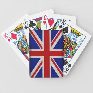 Drapeau Anglais d'Angleterre texturé Jeu De Cartes
