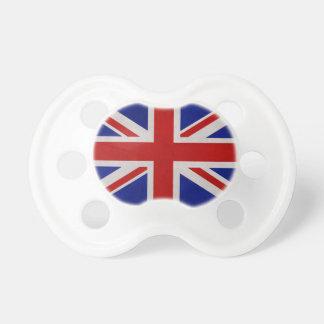 Drapeau Anglais d'Angleterre texturé Tétines Pour Bébé