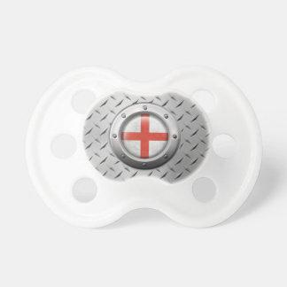 Drapeau anglais industriel avec le graphique en ac sucettes pour bébé