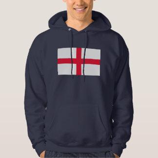 Drapeau anglais pulls avec capuche