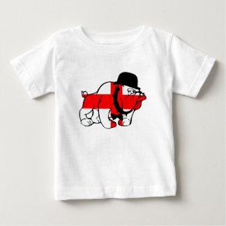 Drapeau anglais snob de l'anglais de bouledogue t-shirt