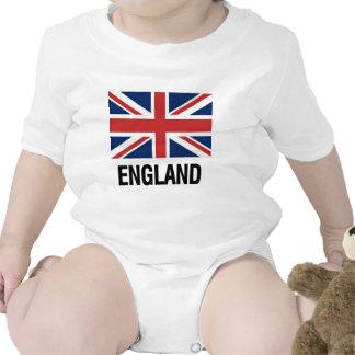Drapeau anglais body pour bébé