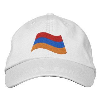 Drapeau arménien casquette brodée