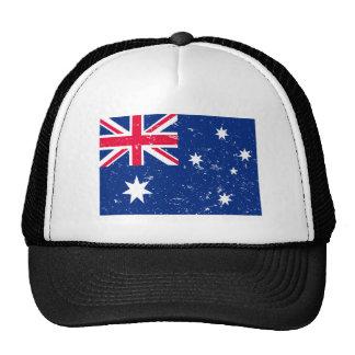 Drapeau australien casquette trucker