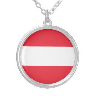 Drapeau autrichien patriotique collier
