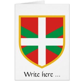 Drapeau Basque Carte De Vœux
