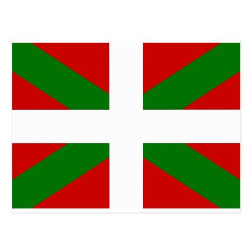 Drapeau Basque Cartes Postales