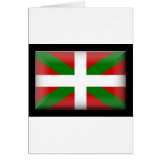 Drapeau Basque   País Vasco Carte De Vœux