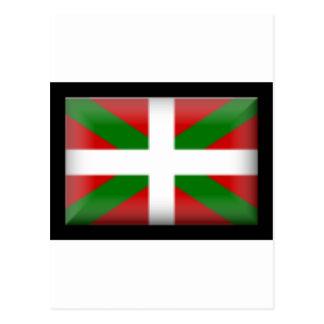 Drapeau Basque   País Vasco Carte Postale