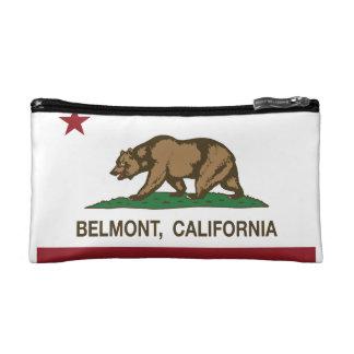 Drapeau Belmont d'état de la Californie Trousses De Toilette