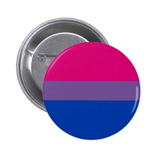 Drapeau bisexuel de fierté badge