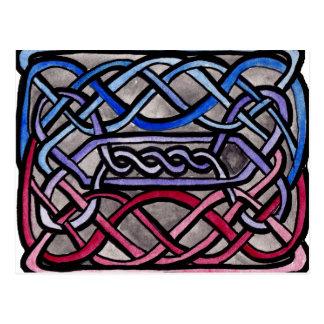 Drapeau bisexuel de Knotwork de Celtic Cartes Postales