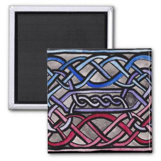 Drapeau bisexuel de Knotwork de Celtic Magnets Pour Réfrigérateur