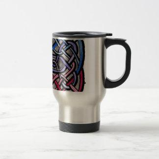 Drapeau bisexuel de Knotwork de Celtic Mugs