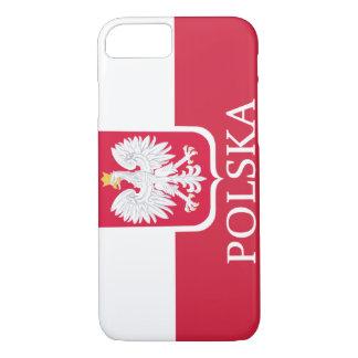 Drapeau blanc de Polska Eagle Coque iPhone 8/7