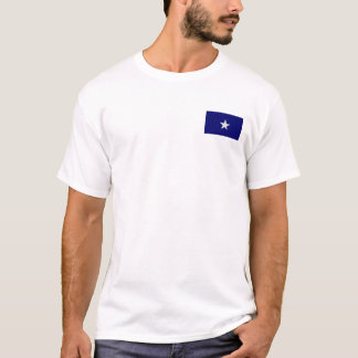 Drapeau bleu mignon t-shirt