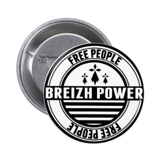 drapeau Breizh Bretagne Breton free people Pin's Avec Agrafe