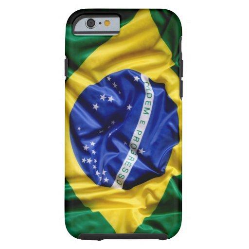 Drapeau brésilien coque iPhone 6 tough